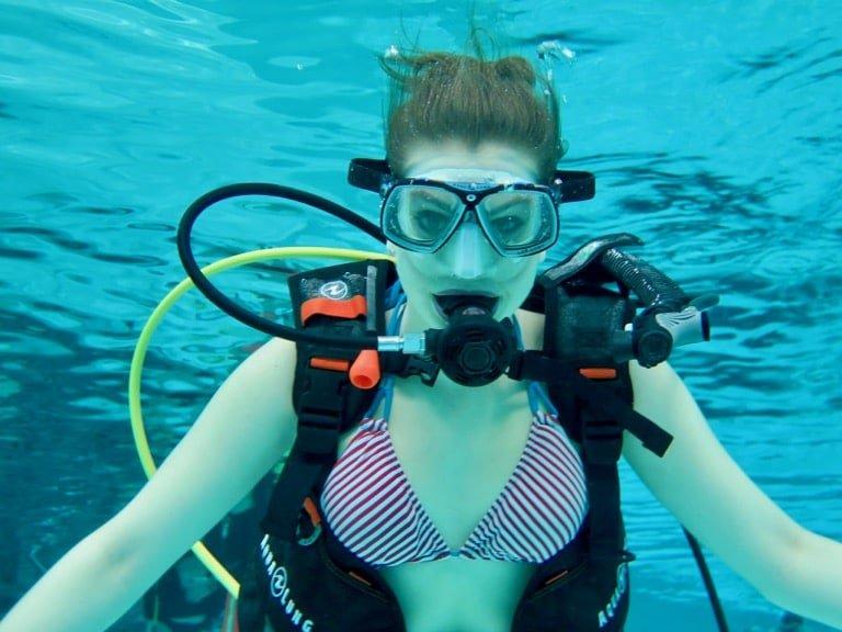 Mauvaise nouvelle : le monde de la plongée, ce n'est pas pour les femmes