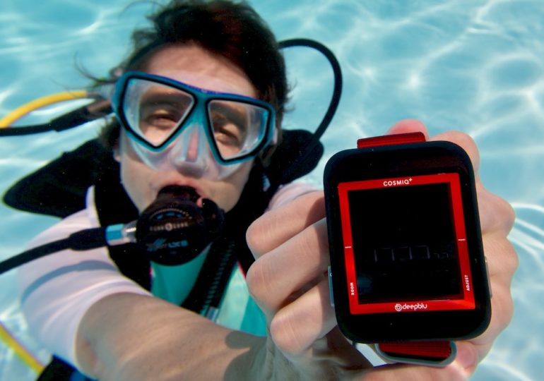 COSMIQ+ : A connected dive computer, really ?